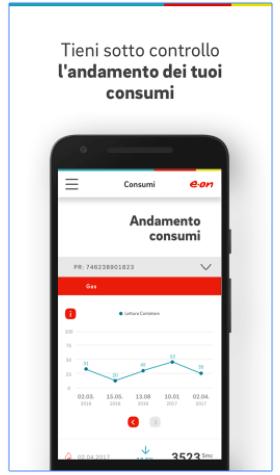 app eon per controllare consumi