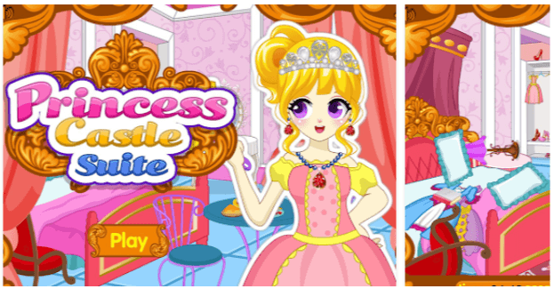 proncess castle suite app android