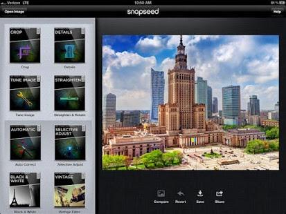 app per sfumare foto - snapseed