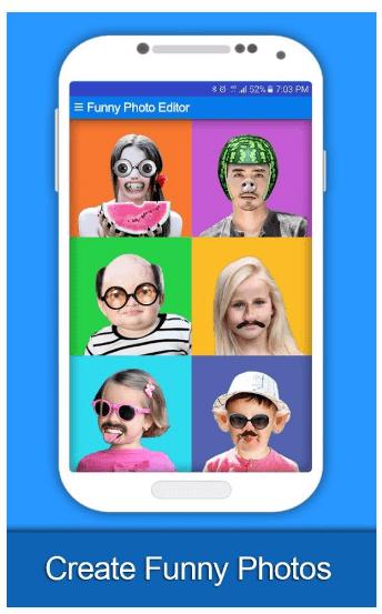 foto divertenti android funny phoo editor