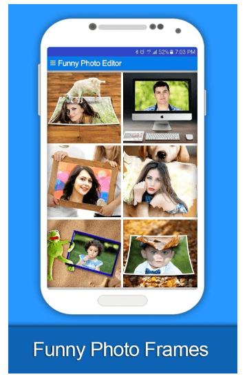 funny photo editor app divertenti android