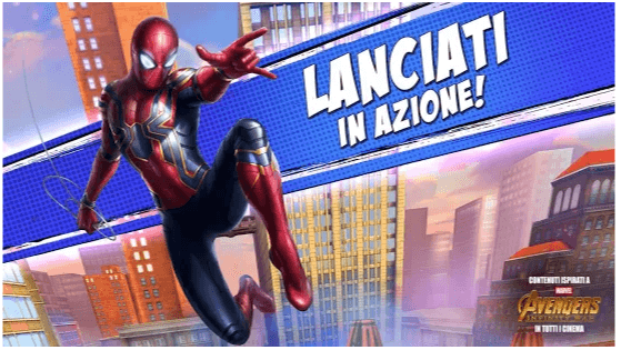 Trucchi Unlimited Spiderman
