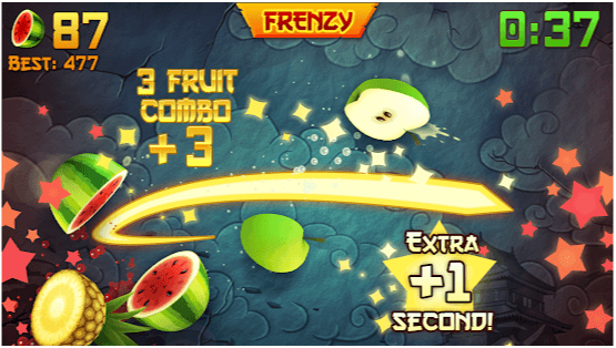 fruit ninja trucchi