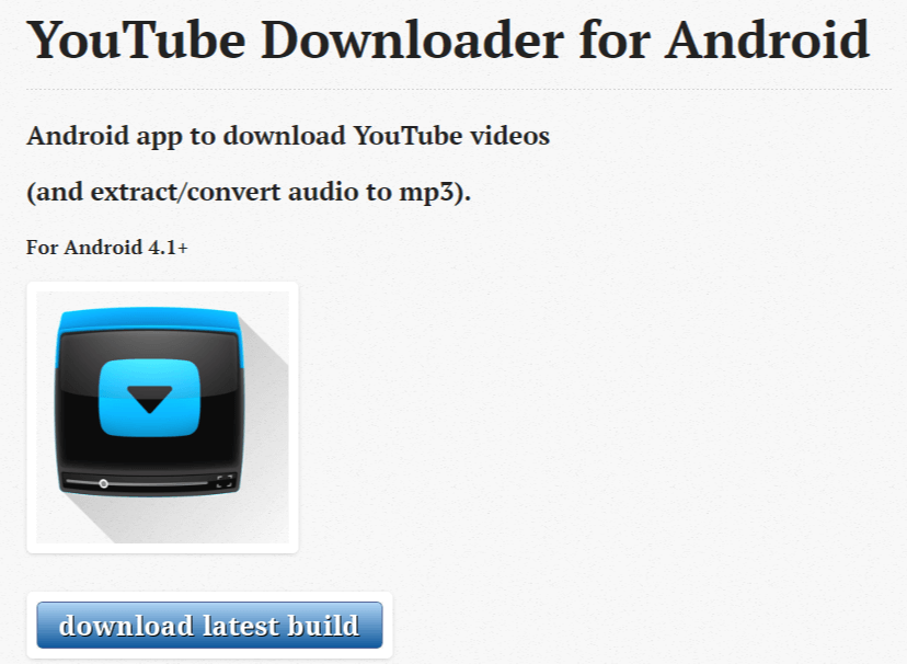 youtube downloader scarica video