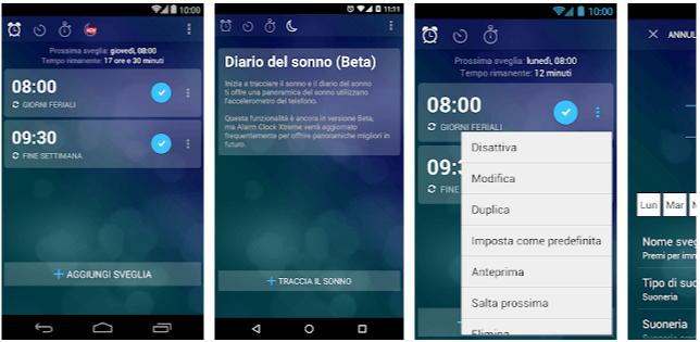 Alarm Clock Sveglia android