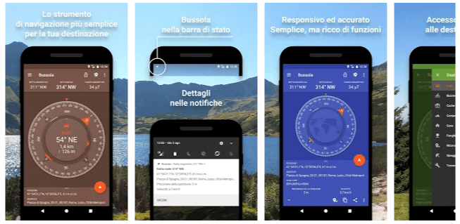 bussola - app android