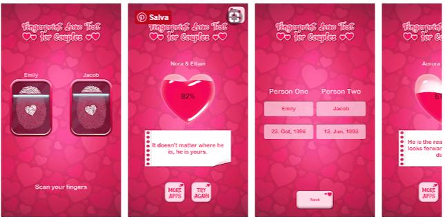 Prova di Amore Impronta Digitale