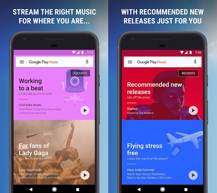 google play music app