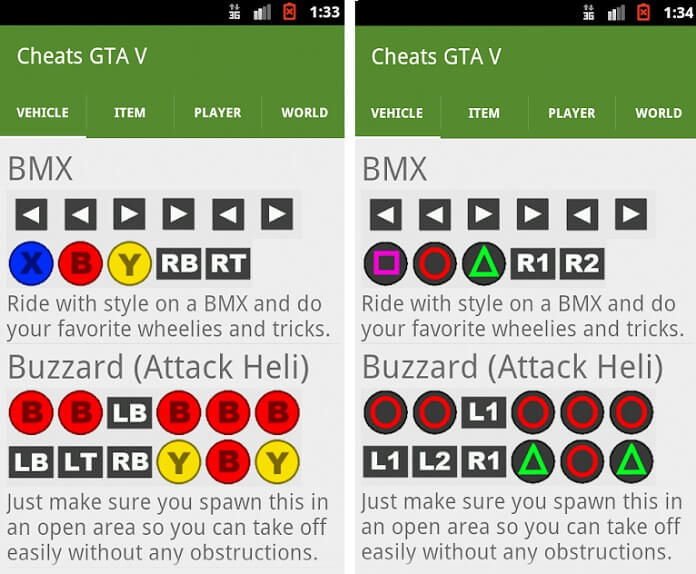 trucchi gta 5 app